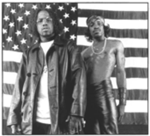 Dropping �bombs�: Outkast may have lost a step on Stankonia, but they still have a few dozen to lose before anyone catches them.