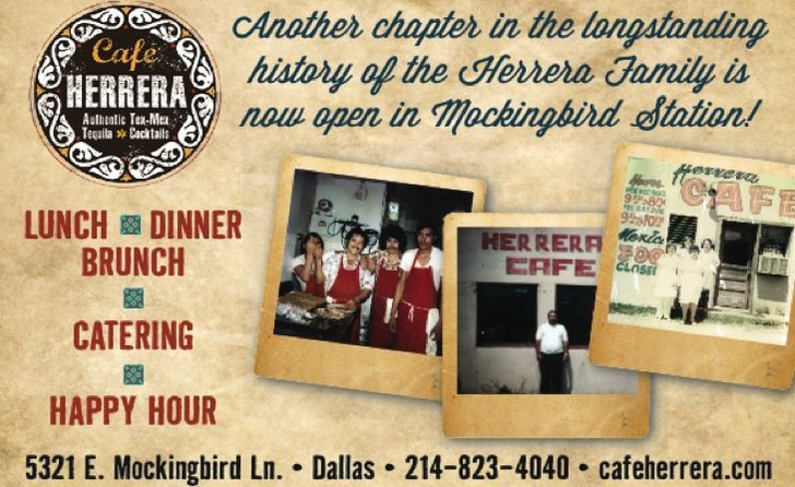 Cafe Herrera now open at Mockingbird Station!