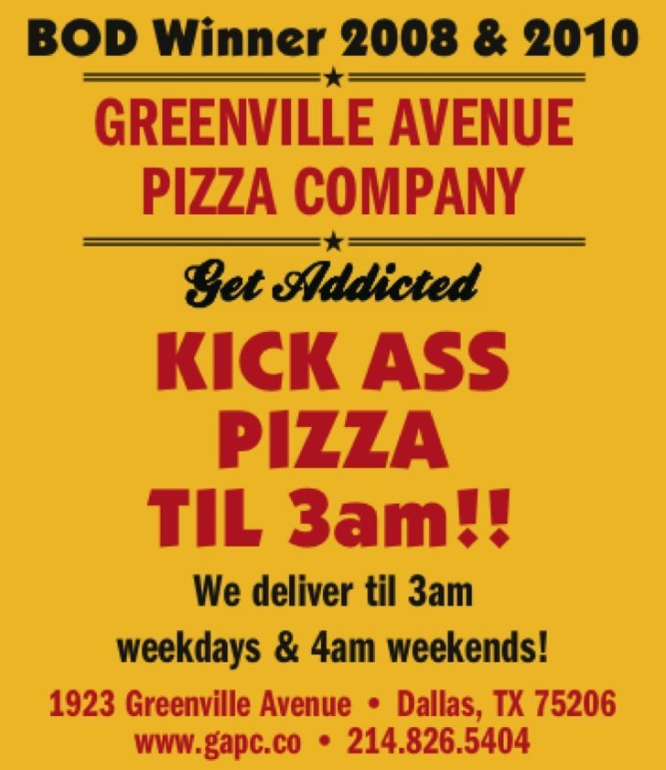 Greenville Avenue Pizza Co