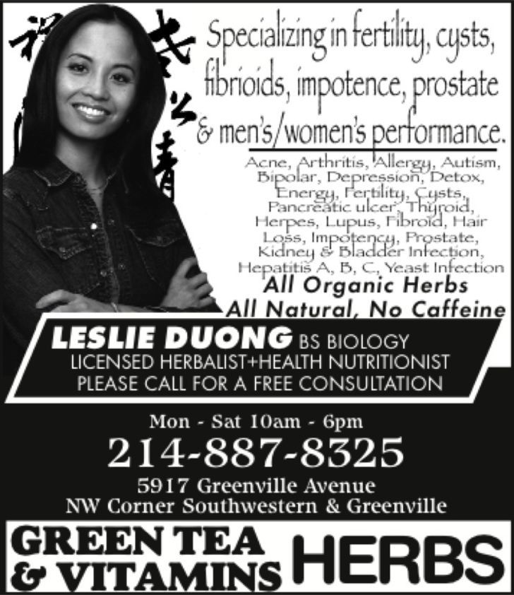 Green Tea Herbs & Vitamins- ACN Herbs