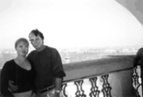 Bob Buss, pictured in Russia with Liliya, a native of the Ukraine. Buss fears he's lost Liliya, who has been spooked by reports of the murder of a Russian bride in the United States.