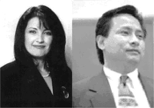 Dr. Elba Garcia and Steve Salazar have accused each other of voting irregularities in the District 1 city council election. Garcia, the challenger, was declared the winner by 41 votes in a recount.