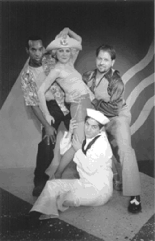 From left: Patrick Amos, Jenn Tusa, Sergio Antonio Garcia and Jamey Cheek jump their way through a '70s sleazification of the Kander and Ebb catalog.