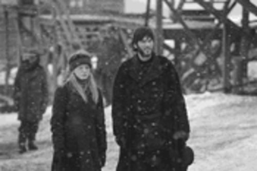 Snow job: Sarah Polley and Wes Bentley star in the ambitious but emotionally aloof film The Claim.