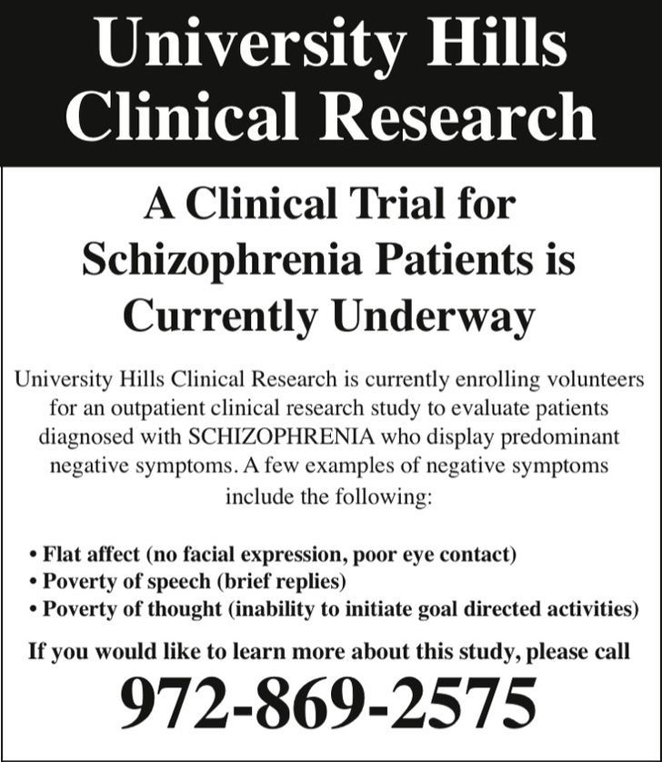 University Hills Clinical Research