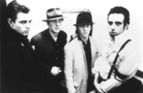 The Old Band: from left, Paul Simonon, Joe Strummer, Topper Headon and Mick Jones