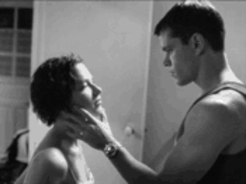 Her name was Lola: Franka Potente, left, and Matt Damon search for love and identity in The Bourne Identity.