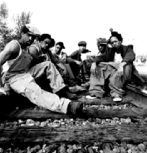It wasn't Nappy Roots' time when they signed with Atlantic Records in 1998, says Ron Clutch, left. Now it is.