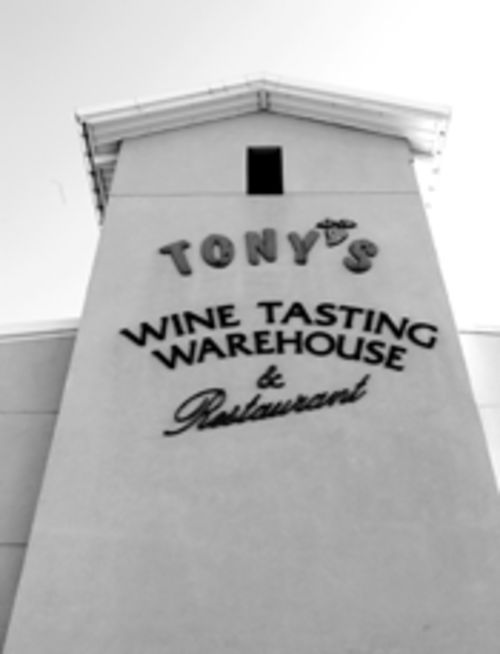 Chemical slander? Wine instructors at Tony's insist large wineries, especially U.S. producers, illegally use substances such as glycol and penicillin in their mass-produced wines. Sources in the California wine industry say such charges are false, even libelous to large California producers.