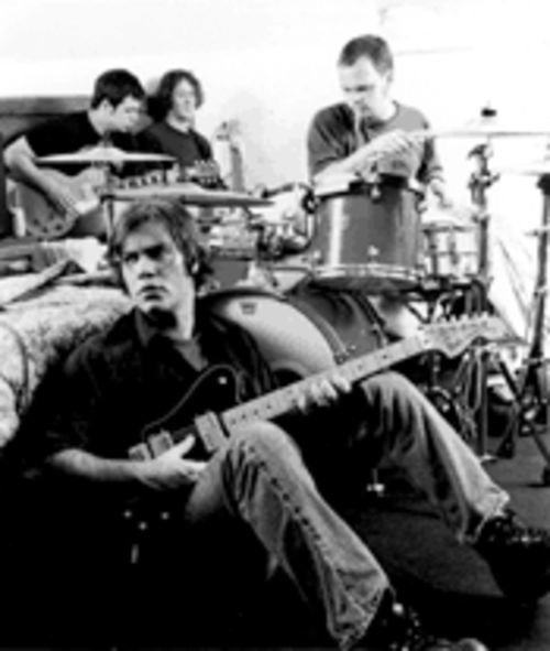 The Replacements' replacements: Slobberbone is, clockwise from bottom, Brent Best, Jess Barr, Brian Lane and Tony Harper.