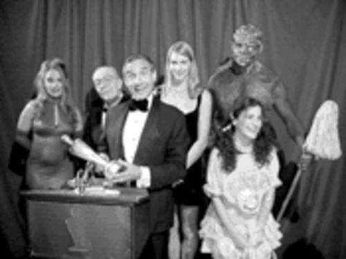 Because Hollywood won�t give Lloyd Kaufman an Oscar, or any other kind of respect, he had to give himself one.