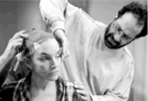 A family affair: Tony Shalhoub directs his wife, Brooke Adams, in Made-Up, which is opening without distribution.
