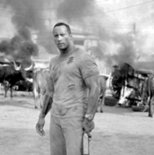 The Rock in a hard place: Dwayne Johnson in The Rundown