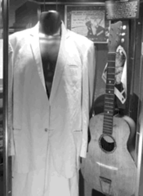 A suit owned by the Sex Pistols�  Glen Matlock