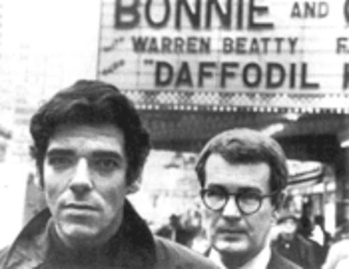 The odd couple: Writing partners David Newman and Robert Benton in New York in 1967