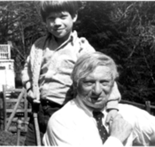 Making the connection: Nathaniel Kahn and his father, famed architect Louis Kahn.