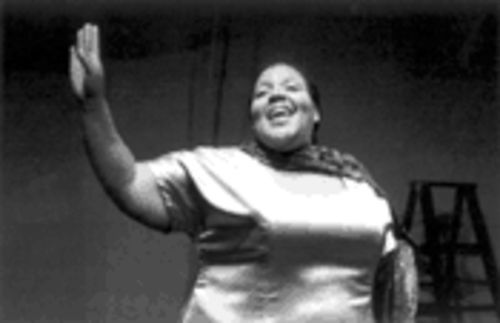Sheran Goodspeed-Keyton stars as blues great Bessie Smith at Jubilee Theatre.