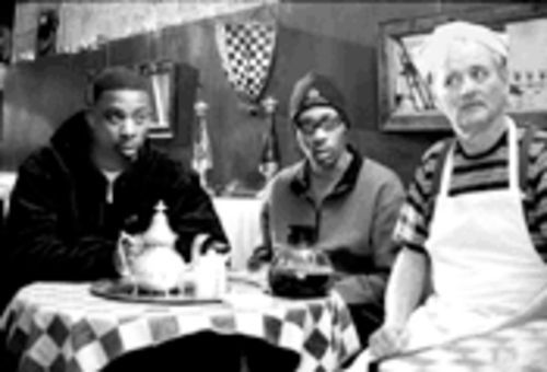 Wu-tang forever: GZA, RZA and Bill Murray as Ol' Dirty Bastard in Coffee and Cigarettes