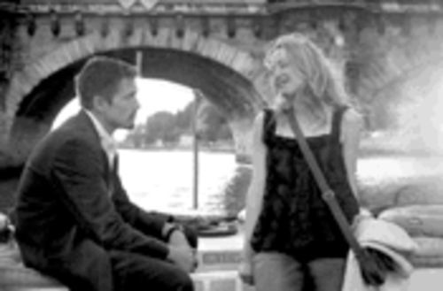 Blah, blah, blah: Ethan Hawke and Julie Delpy get all talky in Before Sunset.