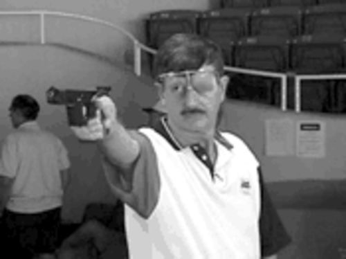 Terry Anderson won 17 national titles as a shooter and made two Olympic teams.