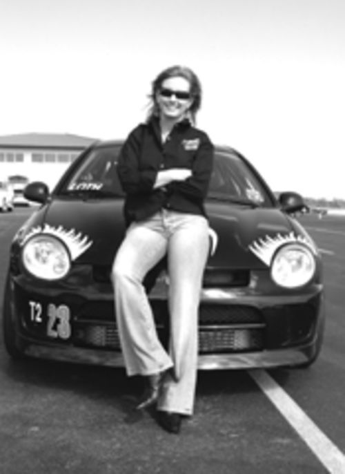Deborah Loth is one of only five women who belong to MotorSport Ranch. She's also one of the fastest drivers, period.