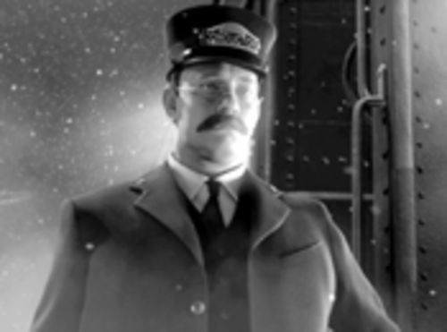 Tom Hanks' avatar stars in Polar Express.