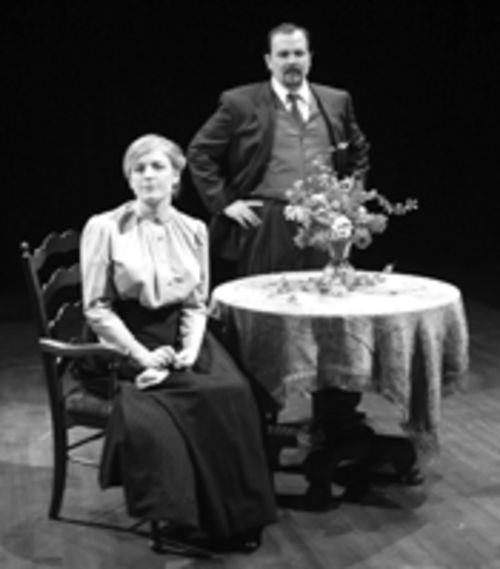 Sour cherries: The Classical Acting Company--featuring Emily Gray and Matthew Gray--misses the comedic possibilities in The Cherry Orchard.