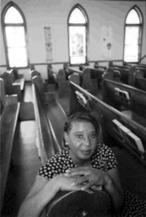 Jackie Leatch has to not only rebuild her dwindling flock  at Mount Olive, but also save a church in need of serious  restoration.