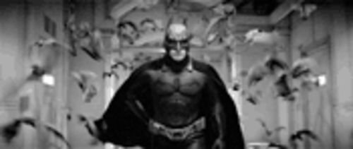 Christian Bale ain't man--or bat--enough to fill Michael Keaton's cape.
