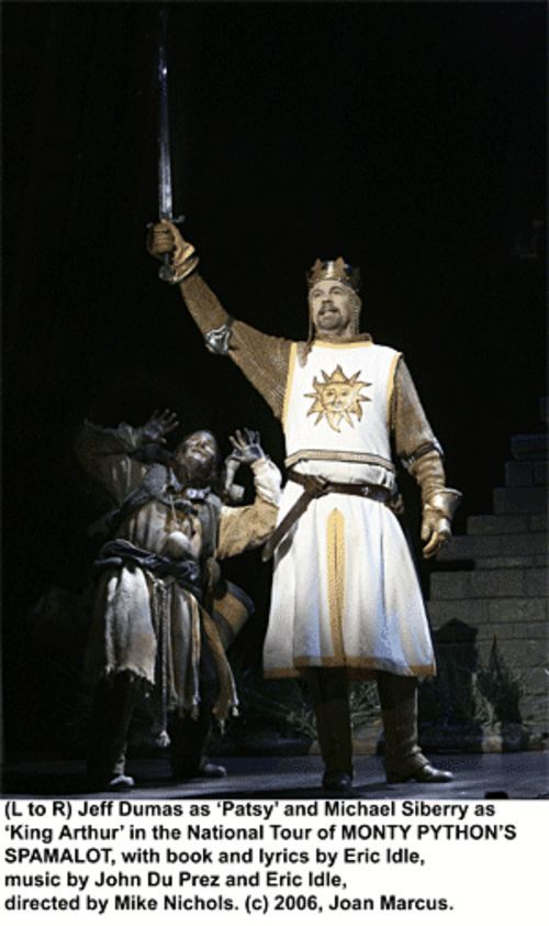 Silly, dumb and cheesy: That would be Spamalot.