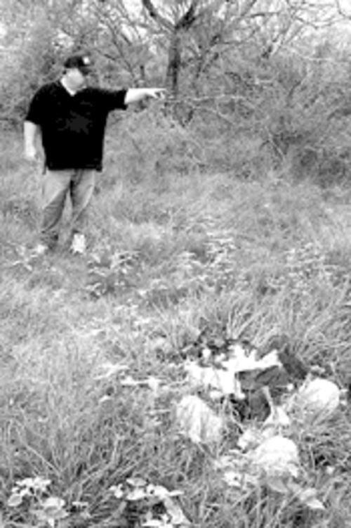 Bill Parmley is tired of immigrants leaving their trash behind as they pass through South Texas.