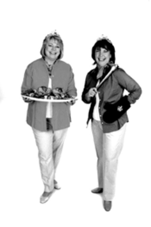 Grill girls: BBQ Queens Karen Adler and Judith Fertig