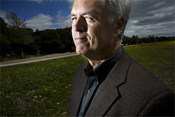Irving engineer Tim Marshall (above) makes his living chasing storms and analyzing how they destroy the manmade world.