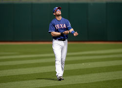 Michael Young's tumultuous off-season raised doubts about whether he would return in a Texas uniform.