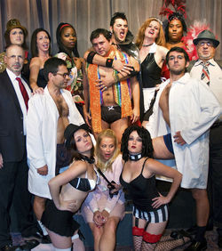 It's a rocky ride through The Rocky Horror Show at Teatro delle Muse in Plano.