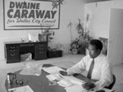 Dwaine Caraway spent weeks poring over the records of his June 2 defeat by Ed Oakley. He didn't disprove any of the vote-hustling charges against himself, but he did come up with evidence that Oakley was no angel, either.