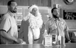 Ho ho huh? From left, Mike Epps, John Witherspoon and Ice Cube drain the last few laughs out of a tired Friday formula.