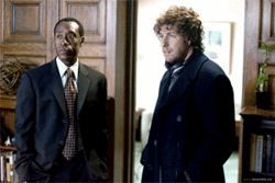 Walking wounded: Don Cheadle and Adam Sandler in post-9/11 NYC