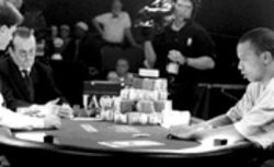 The only sport in the world where the money's on the table: scenes from World Poker Tour, which will not make you an expert