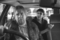 Taxicab confessions: In Mike Leigh's world, real-looking people like Timothy Spall, left, are stars.