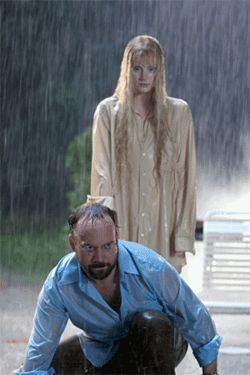 Narfs, scrunts and Eatlons, oh my! Paul Giamatti and Bryce Dallas Howard meander through Lady's murky water.