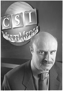 Dr. Phil McGraw, far left, co-founded Courtroom Sciences Inc. in Dallas after quitting his silk-stocking psychology practice in Wichita Falls.