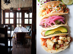 Wild Salsa's open dining room sets the stage for some killer tacos.