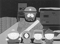 Dude, this doesn't suck: Chef and the boys of South Park