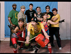 Gypsy funk + punk = Gogol Bordello