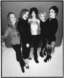 Head over heels, still: The Go-Go's return sounding everything, and nothing, like they did 20 years ago.
