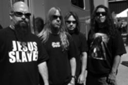 Slayer's Kerry King, left, is 40 years old. Got something to say about that, punk?