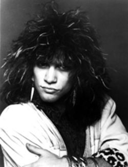 The true soul of the Garden State doesn't look like this  anymore, but man, we wish Bon Jovi would grow it out  again.