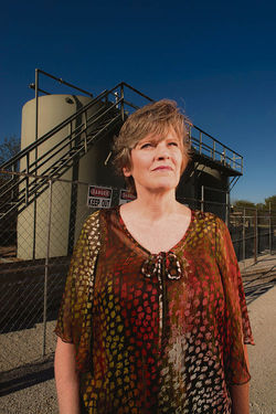Texan Sharon Wilson writes about fracking on her blog, Bluedaze.