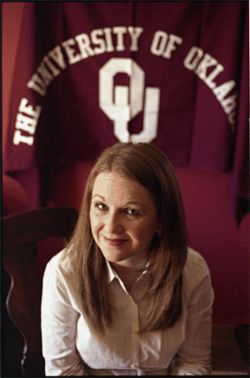 OU recruiter Samantha Suchala is having boom times in North Texas.